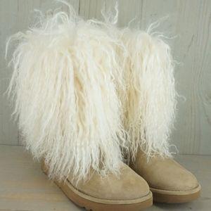 c033d266f6e Women Mongolian Fur Ugg Boots on Poshmark